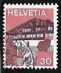 Stamps : Europe : Switzerland :  Erlenbach in Simmental - Berna