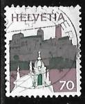 Stamps : Europe : Switzerland :  Bellinzona (Tessin)