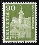 Stamps : Europe : Switzerland :  Munot at Schaffhausen