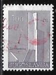 Stamps : Europe : Yugoslavia :  Monumento de la Revolución