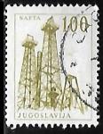 Stamps : Europe : Yugoslavia :  Plataformas Petrolíferas