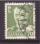 de Europa - Dinamarca -  frederik IX
