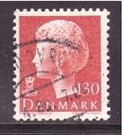 de Europa - Dinamarca -  reina margrethe II
