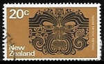 Stamps : Oceania : New_Zealand :  Maori Tattoo