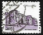 Stamps : Asia : Pakistan :  Attock Fort