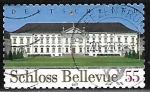 Stamps : Europe : Germany :  Castillo Bellevue - Berlin