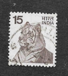 Stamps : Asia : India :  Tigre