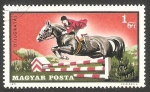 Stamps of the world : Hungary :  2195 - Salto de obstáculos