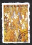 Stamps Africa - São Tomé and Príncipe -  Navidad de 1990