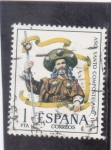 Stamps : Europe : Spain :  AÑO SANTO COMPOSTELANO (36)