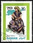 Stamps : Asia : United_Arab_Emirates :   Trajes y Disfraces