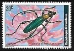 Stamps : Africa : Rwanda :  Escarabajo