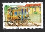 Sellos de America - Cuba -  Carruages, Transporte público 1860