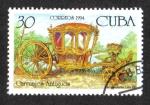 Sellos del Mundo : America : Cuba : Carruages, Carroza estilo Luis XV