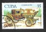 Stamps : America : Cuba :  Carruages, Carroza de Gala de Isabel II