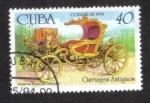 Stamps : America : Cuba :  Carruages, Coche de verano de Catalina II