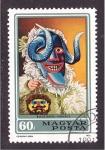 de Europa - Hungría -  serie- disfraces típicos