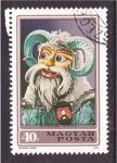 Stamps Europe - Hungary -  serie- disfraces típicos