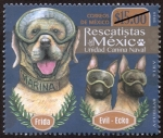 Stamps : America : Mexico :  Unidad Canina naval