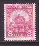 Stamps Europe - Hungary -  corona real