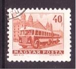 Stamps Europe - Hungary -  serie- transporte público