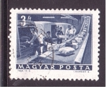 de Europa - Hungría -  distribución de paquetes