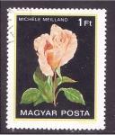 de Europa - Hungría -  serie- rosas