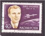 de Europa - Hungría -  serie- astronautas