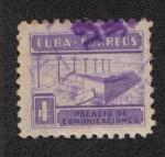 Stamps America - Cuba -  Impuestos Postales, Impuesto de construcción de comunicaciones,