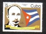 sellos de America - Cuba -  Centenario de la guerra de independencia, José Marti