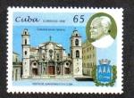 Stamps : America : Cuba :  Visita del Papacu