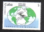 Stamps : America : Cuba :  Expo 2000