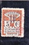 Stamps : Europe : Spain :  AYUNTAMIENTO DE BARCELONA (36)