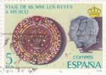 Stamps : Europe : Spain :  VIAJE DE SS.MM. LOS REYES A MEJICO(36)