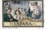 Stamps : Europe : Spain :  CIENCIA Y CARIDAD (Picasso)(36)