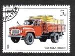 Sellos del Mundo : Europa : Rusia : Industria automotriz soviética
