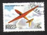 de Europa - Rusia -  Historia de los planeadores soviéticos, planeador