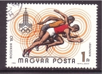 sellos de Europa - Hungría -  Moscú 80
