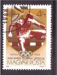 sellos de Europa - Hungría -  Seúl 88