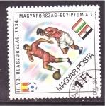 Sellos de Europa - Hungría -  Mundial 82