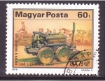 Stamps Hungary -  ferrocarril intern.