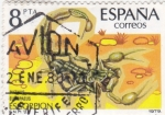 Stamps : Europe : Spain :  ESCORPION (36)