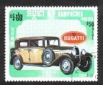 Sellos del Mundo : Asia : Camboya : Coches, Bugatti 1929