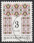 Sellos de Europa - Hungría -  3497 - Tapiz