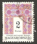 Sellos del Mundo : Europa : Hungría : 3496 - Tapiz