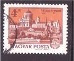 Stamps Hungary -  Esztergom