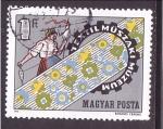 de Europa - Hungría -  museo textil