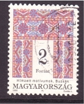 Stamps Hungary -  serie- tapices