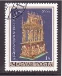Sellos de Europa - Hungría -  serie- Objetos religiosos