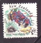 Sellos de Oceania - Nueva Zelanda -  rafting